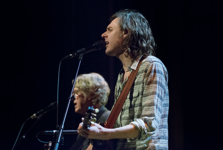 Bill & Joel Plaskett / Mayhemingways Vogue Theatre, Vancouver BC, April 1