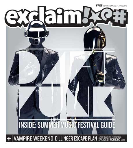 Daft Punk, the Dillinger Escape Plan, Vampire Weekend and City and Colour Fill Exclaim!'s New Issue