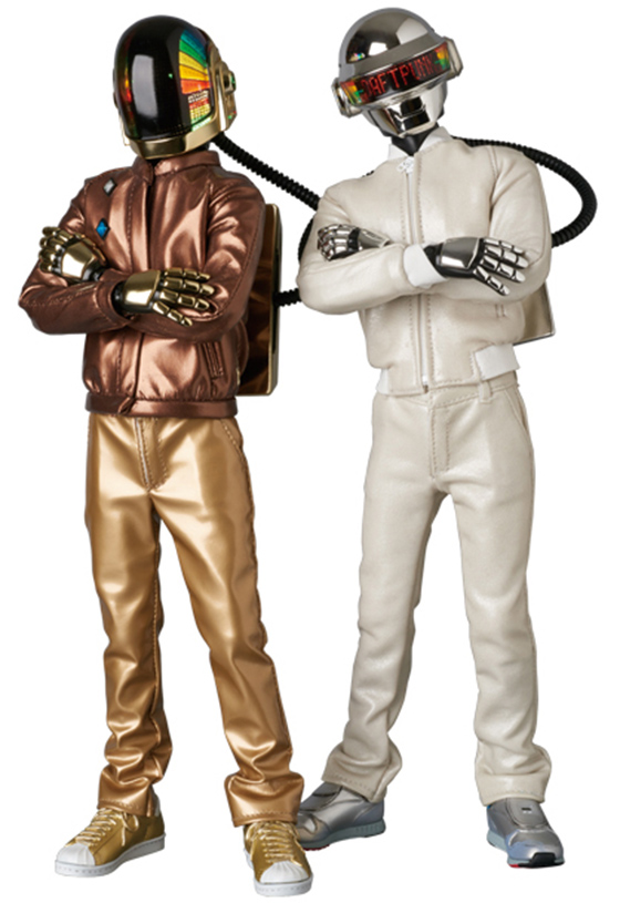 Daft Punk Get New Action Figures with Light-Up LED Helmets