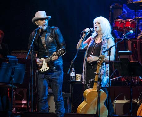 Luminato's Daniel Lanois tribute with Emmylou Harris, Kevin Drew Massey Hall, Toronto, ON, June 10