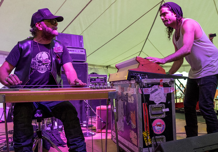 Daniel Lanois Island Stage, Guelph ON, July 25