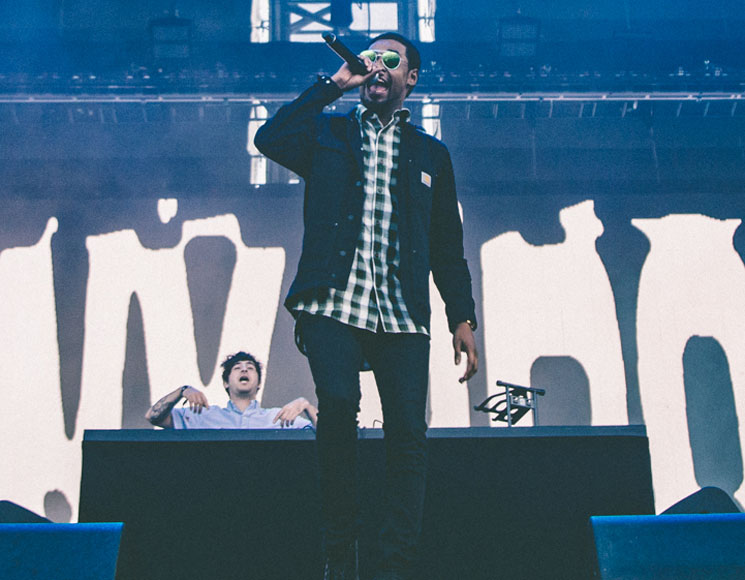 Danny Brown Bell Stage, Quebec City QC, July 15