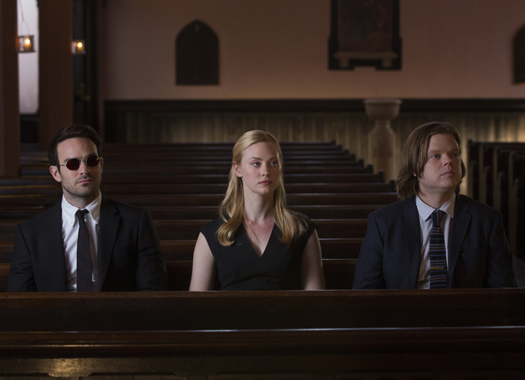 'Daredevil' Actor Deborah Ann Woll Talks Karen Page's Progress and Bonding with Punisher