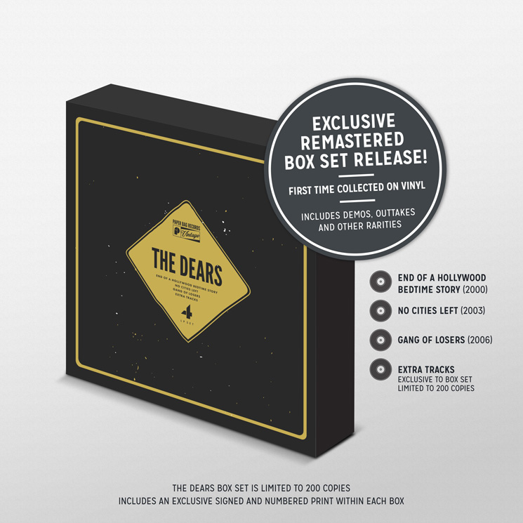 The Dears' Early Albums Collected in Vinyl Box Set