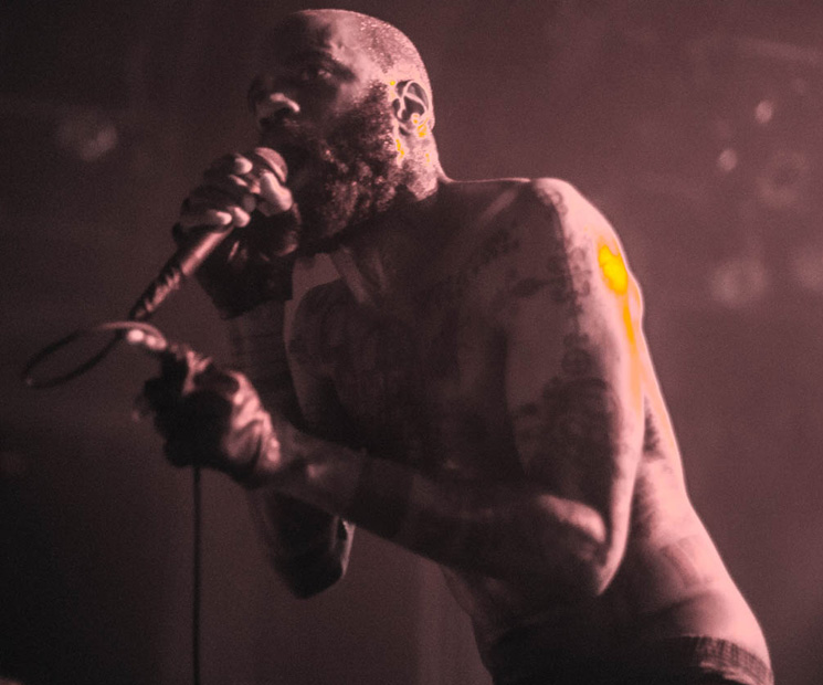 Death Grips Commodore Ballroom, Vancouver BC, June 20