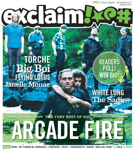 Exclaim!'s December/January Issue Hits the Streets with Our Year in Review, Phil Anselmo, My Chemical Romance, Cee Lo Green