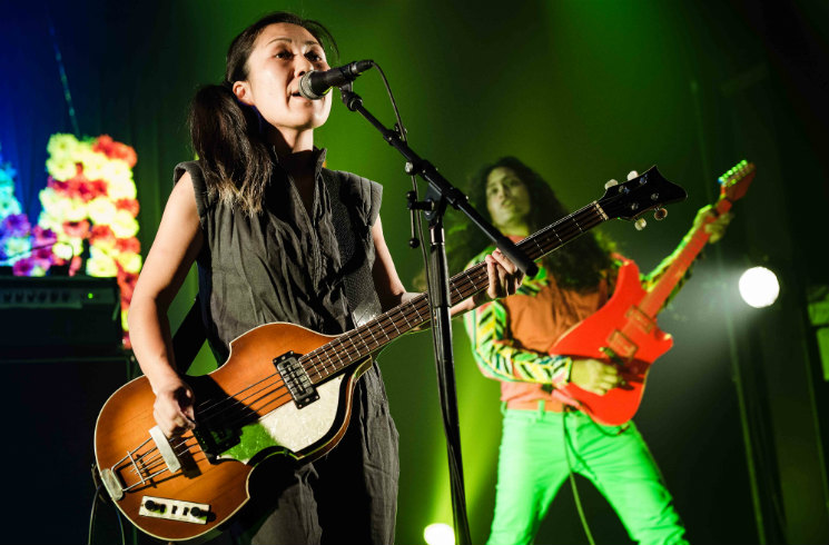 Deerhoof Agora des Arts, Rouyn-Noranda QC, September 3