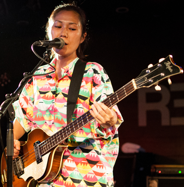 Deerhoof Republik, Calgary AB, June 20