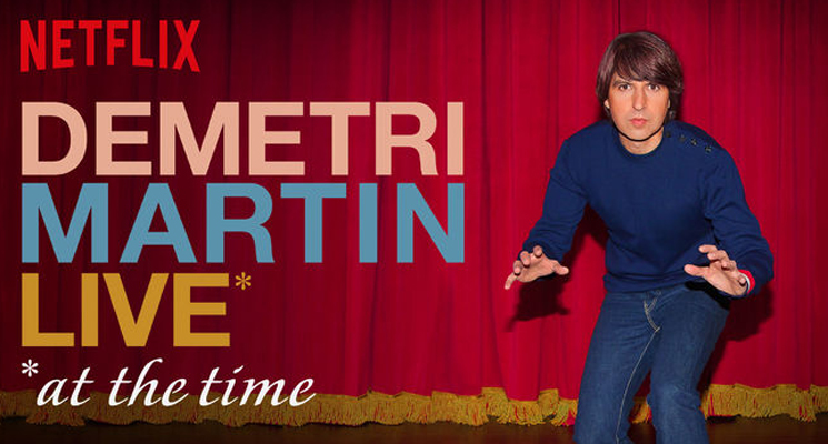 Demetri Martin Live (At the Time)