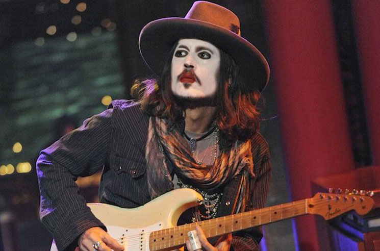 Johnny Depp Could Be Joining Marilyn Manson's Band