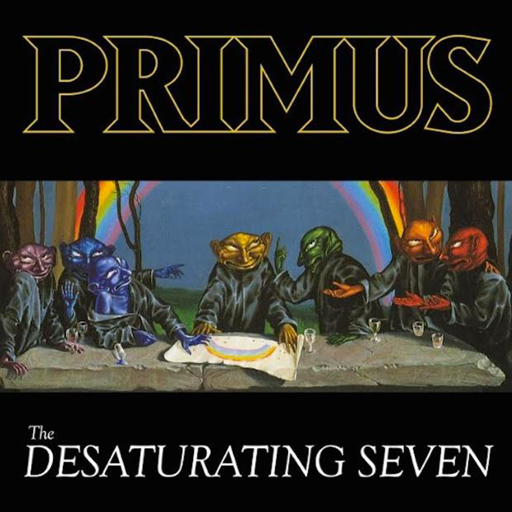 Primus 'The Desaturating Seven' (album stream)