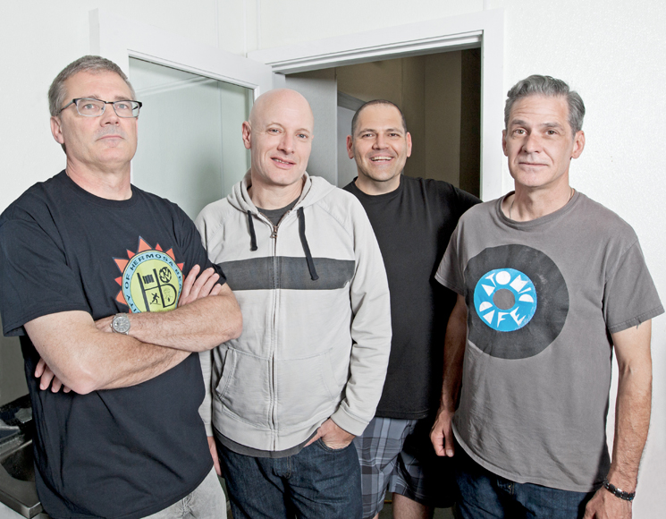 "Descendents Update the ""Whole 'I Like Food' Thing"" with 'Hypercaffium Spazzinate'"