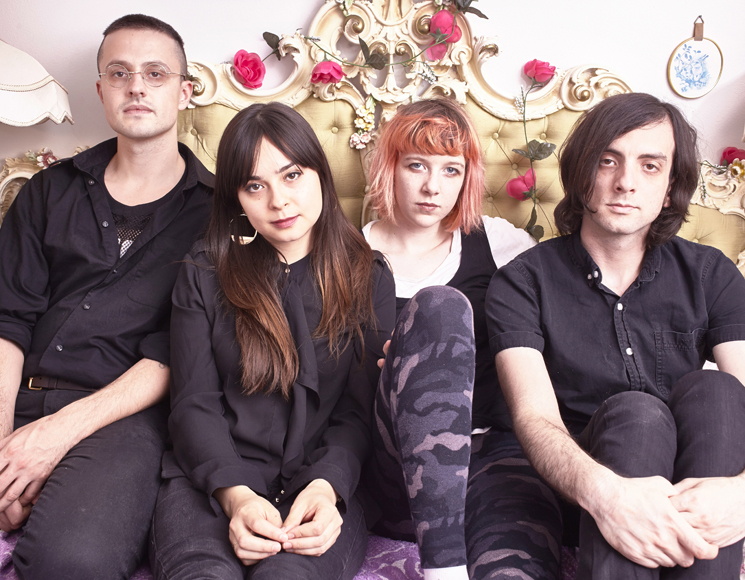 From Karaoke to METZ: Dilly Dally Divulge Their 'Sore' Inspirations
