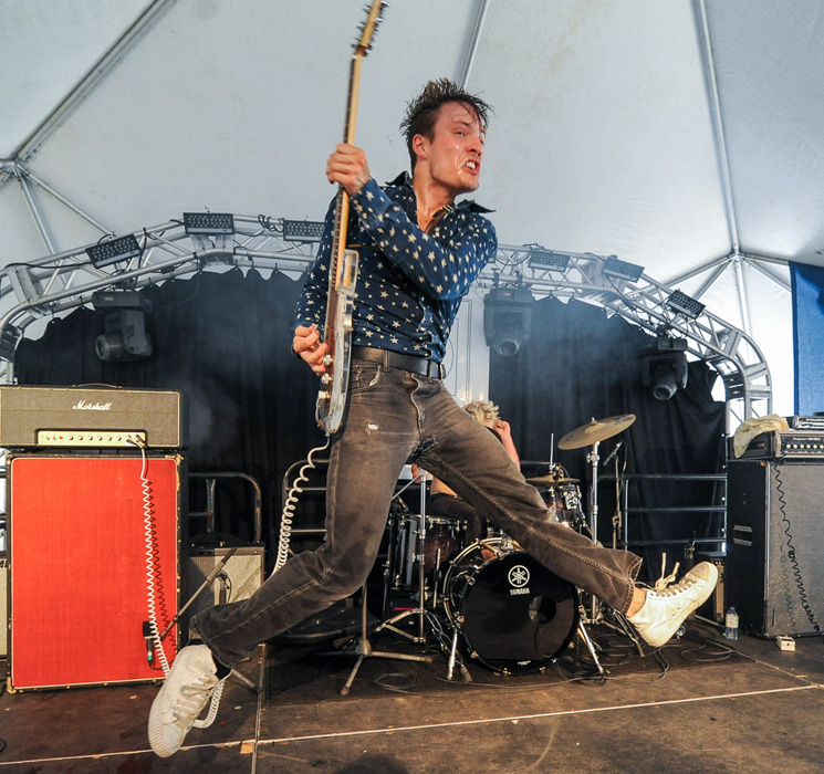 The Dirty Nil Mainstage Tent, Sackville NB, July 30