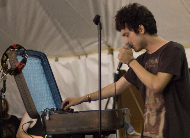 Doldrums Island Stage, Guelph ON, July 24