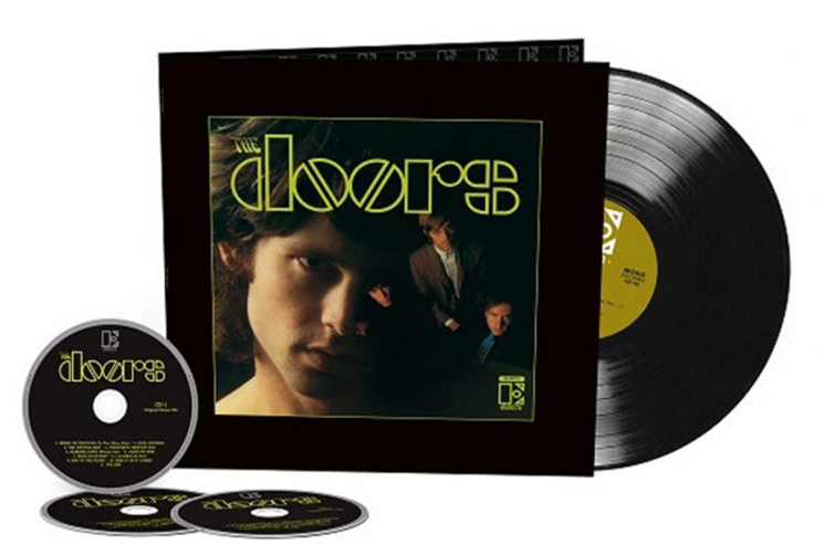 The Doors' 1967 Debut Gets 50th Anniversary Reissue