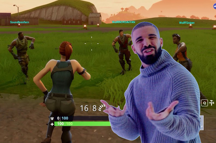 Drake Will Rap About 'Fortnite' If They Add an In-Game 'Hotline Bling' Dance