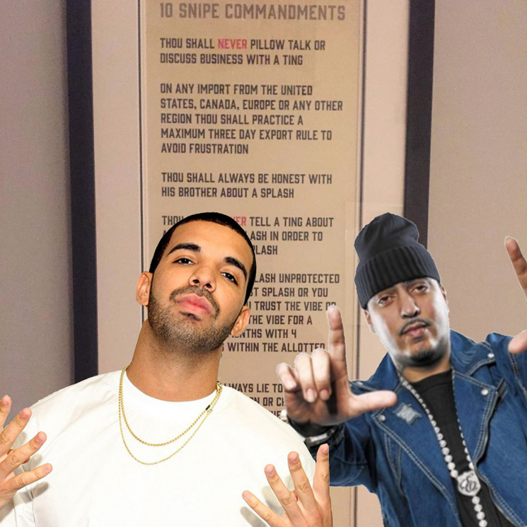 Drake and French Montana's 'Snipe Commandments' Prove They're Frat Bros