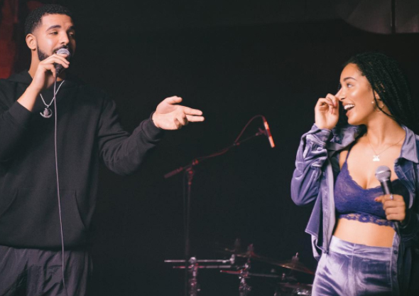Watch Drake Perform with Jorja Smith in Toronto