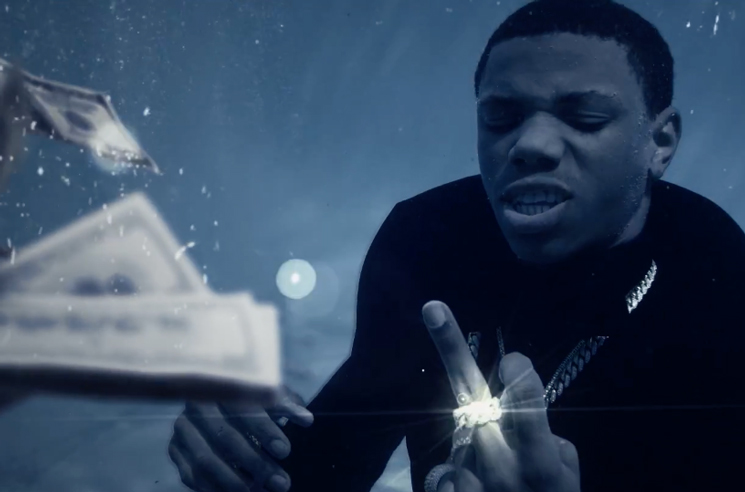 "A Boogie wit da Hoodie ""Drowning"" (ft. Kodak Black) (video)"