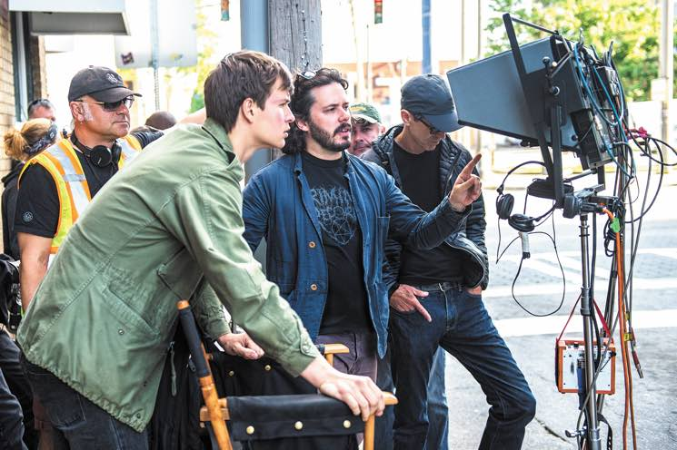 ​Edgar Wright Shifts 'Baby Driver' Into High Gear