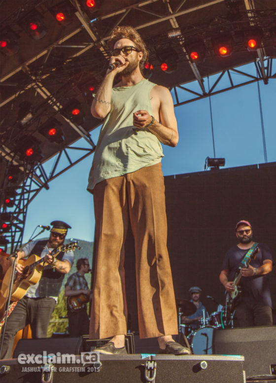 Edward Sharpe and the Magnetic Zeros Mount Currie Stage, Pemberton BC, July 19