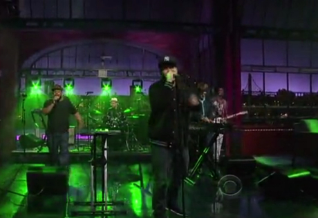 "El-P ""Stay Down"" (ft. Nick Diamonds) (live on 'Letterman')"