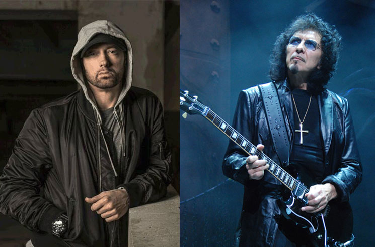Eminem Nearly Collaborated with Black Sabbath's Tony Iommi