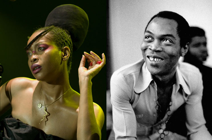 Erykah Badu Curates New Fela Kuti Box Set