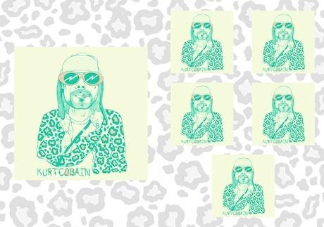 Kurt Cobain Gets His Very Own Sticker Book
