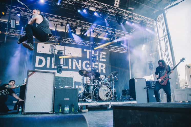 The Dillinger Escape Plan Jägermeister Stage, Montebello QC, June 19