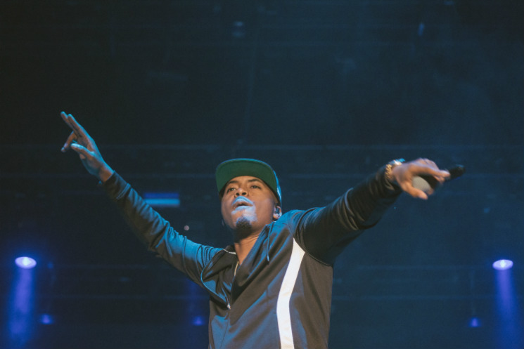 Nas Main Stage, Toronto Island ON, June 13