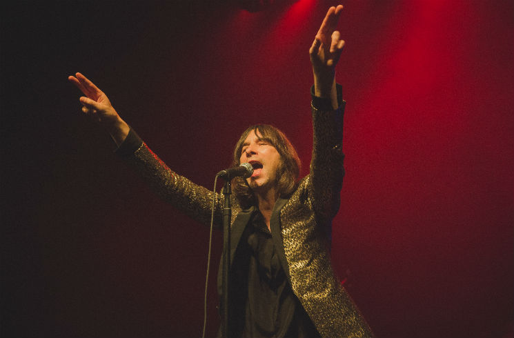 ​Primal Scream's Bobby Gillespie Hospitalized After Stage Fall