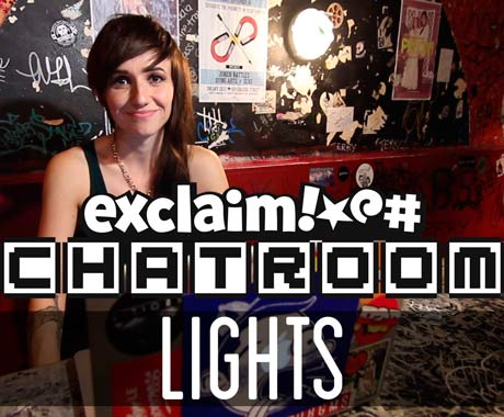 Lights on Exclaim! TV Chatroom