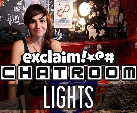 Lights on Exclaim! TV Chatroom