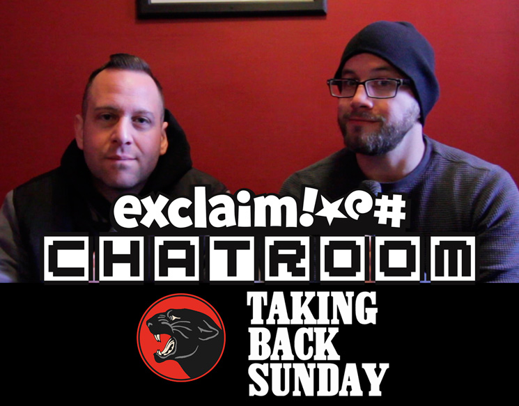 Taking Back Sunday on Exclaim! TV Chatroom