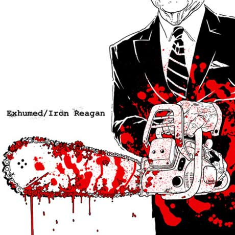 Exhumed & Iron Reagan Split