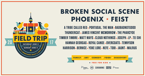 Field Trip Rounds Out 2017 Lineup with Matt Mays, Tennyson