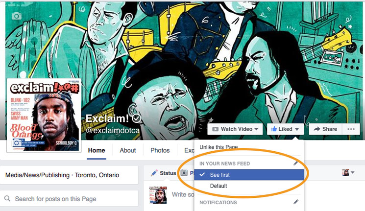 ​If Exclaim! Hasn't Been Showing Up in Your Facebook News Feed, Here's Why