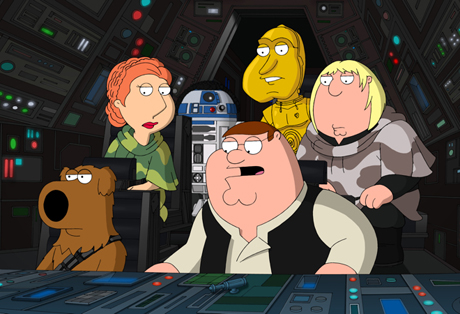 Family Guy: It's A Trap Peter Shin