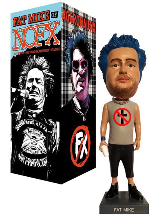NOFX's Fat Mike Gets His Own Throbblehead Figure