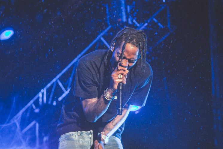 Travis Scott Bell Stage, Quebec City QC, July 9