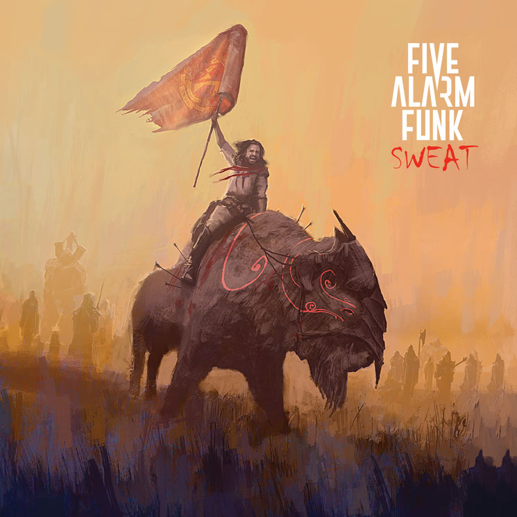 "Five Alarm Funk Reveal 'Sweat' LP, Share ""DDPP"""