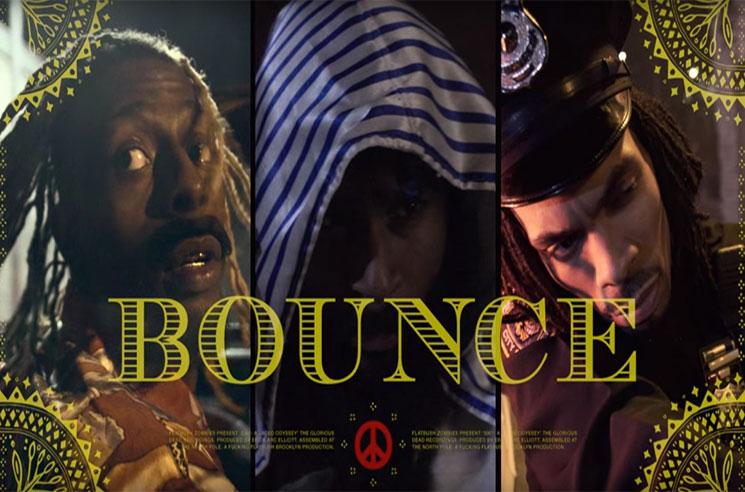 "Flatbush Zombies ""Bounce"" (video)"