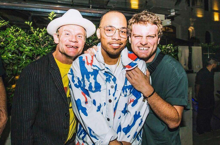 Watch Flea Jam with Anderson .Paak in Buenos Aires