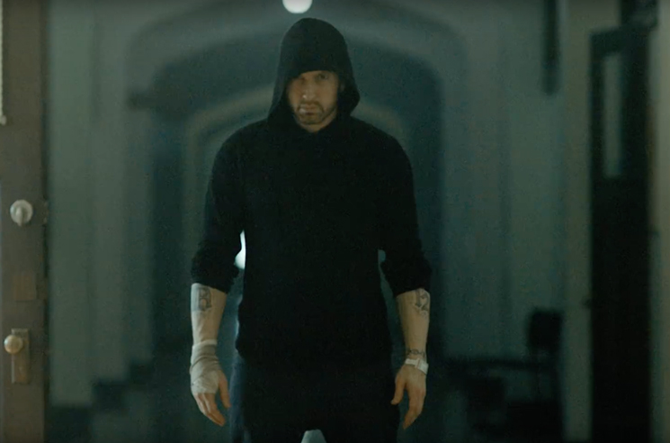 Eminem Teases 'Framed' Video