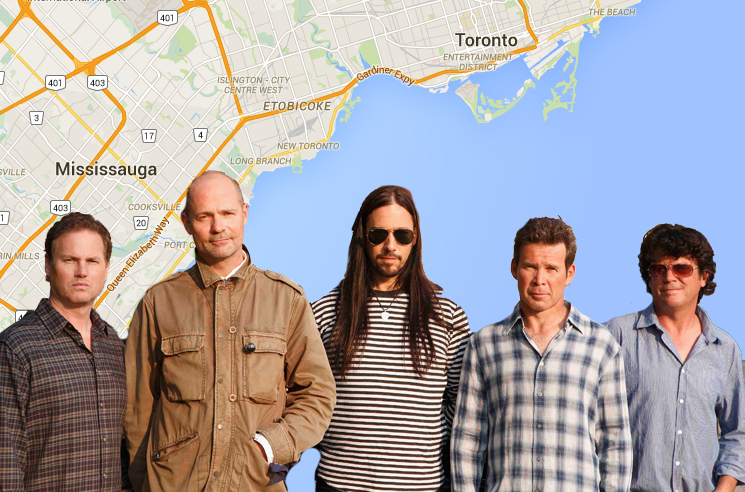 Toronto and Mississauga City Councillors Propose Free Tragically Hip Concerts