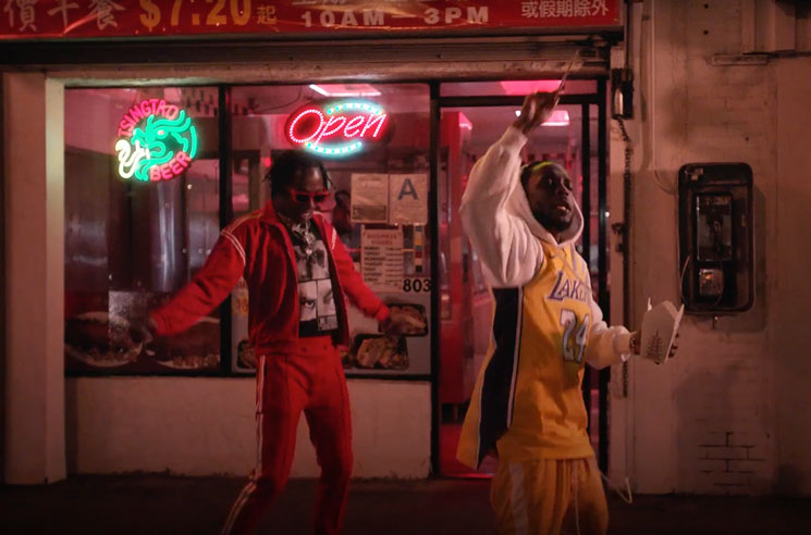"Watch Rich the Kid and Kendrick Lamar Grab Takeout in the Video for ""New Freezer"""