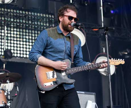 Frightened Rabbit River Stage, Montreal QC, August 4