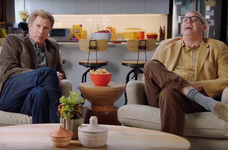 Watch Will Ferrell and Adam McKay Roast Zach Galifianakis for Three Minutes